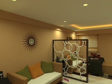 Online design Contemporary Living Room by Elvin A. thumbnail