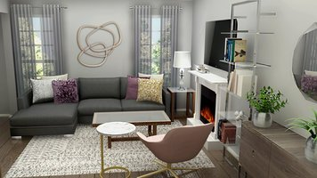 Online design Transitional Living Room by Ani K. thumbnail