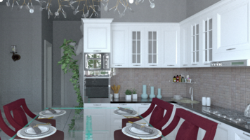 Online design Contemporary Kitchen by Rana S. thumbnail