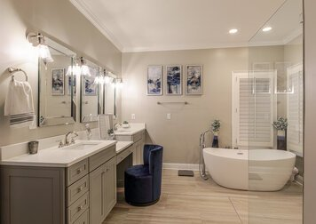 Online design Transitional Bathroom by Jennifer H. thumbnail