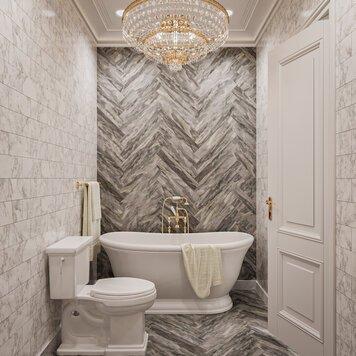 Online design Contemporary Bathroom by Aida A. thumbnail