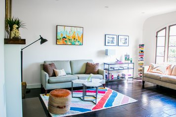 Online design Eclectic Living Room by Michelle B. thumbnail