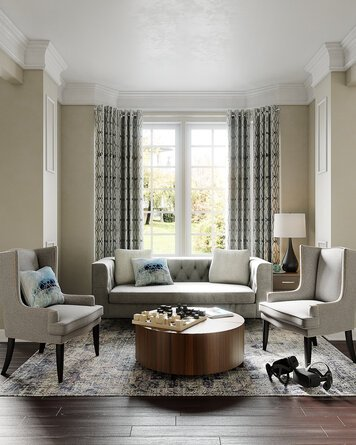 Online design Country/Cottage Living Room by KaSonndra L. thumbnail