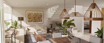 Online design Contemporary Living Room by Jose S. thumbnail