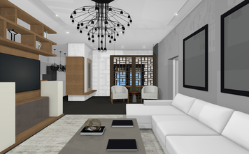 Online design Contemporary Living Room by Heidy F. thumbnail