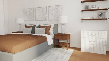 Online design Contemporary Bedroom by Selma A. thumbnail