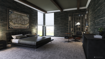 Online design Contemporary Bedroom by Kristin W. thumbnail