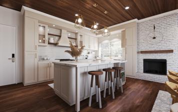 Online design Beach Kitchen by Rehan A. thumbnail