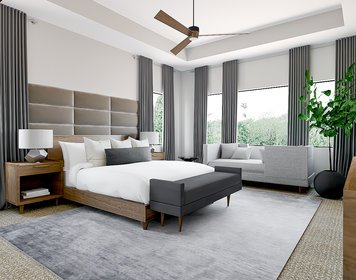 Online design Modern Bedroom by MaryBeth C. thumbnail