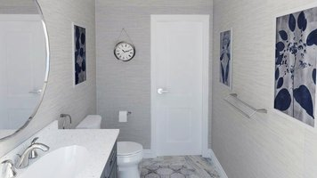 Online design Transitional Bathroom by Selma A. thumbnail