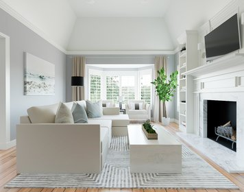 Online design Transitional Living Room by MaryBeth C. thumbnail