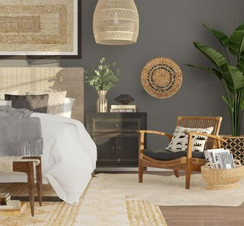 Online design Eclectic Bedroom by Aimee M. thumbnail