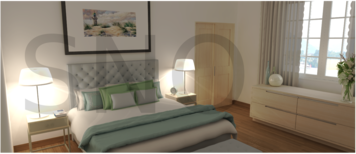 Online design Contemporary Bedroom by Shanthi O. thumbnail
