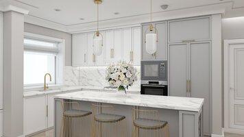 Online design Glamorous Kitchen by Ioana A. thumbnail