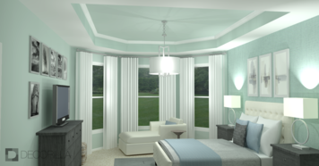 Online design Transitional Bedroom by Amber K. thumbnail