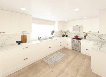 Online design Transitional Kitchen by Meghan E. thumbnail