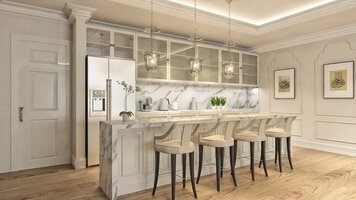 Online design Traditional Combined Living/Dining by Aida A. thumbnail