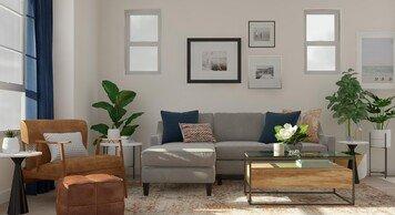 Online design Modern Living Room by Amanda B. thumbnail