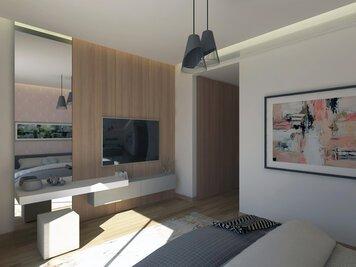 Online design Modern Bedroom by Farah H. thumbnail