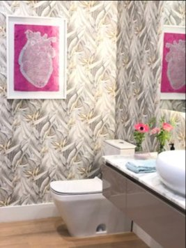 Online design Modern Bathroom by Marcela O. thumbnail