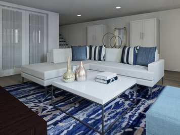 Online design Modern Living Room by Lynda N thumbnail