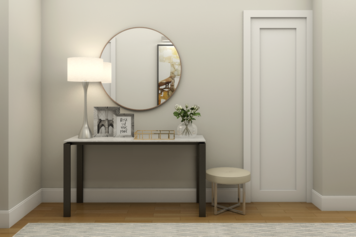 Online design Contemporary Hallway/Entry by Picharat A.  thumbnail