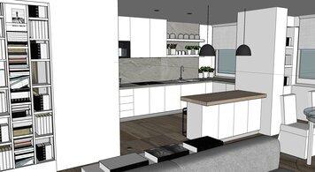 Online design Contemporary Kitchen by Chiara B. thumbnail