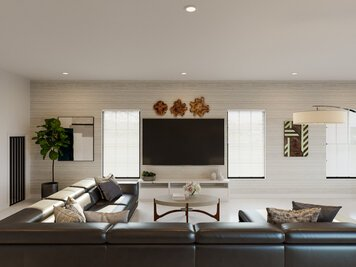 Online design Contemporary Combined Living/Dining by Casey H. thumbnail