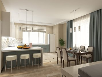 Online design Contemporary Kitchen by Luba K. thumbnail