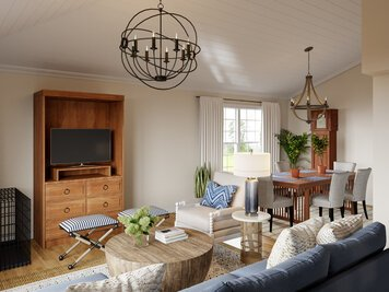 Online design Beach Combined Living/Dining by Casey H. thumbnail