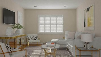 Online design Glamorous Living Room by Lacie H. thumbnail