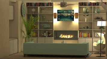Online design Transitional Living Room by Kiran K. thumbnail