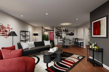 Online design Glamorous Living Room by KaSonndra L. thumbnail