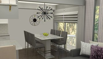 Online design Transitional Dining Room by Ani K. thumbnail