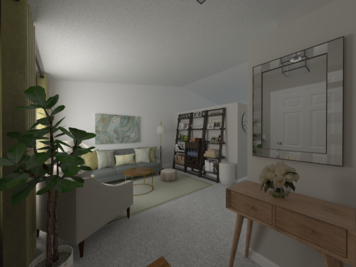Online design Contemporary Living Room by lila n. thumbnail