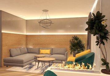 Online design Contemporary Living Room by Monika K. thumbnail