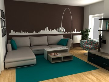 Online design Contemporary Living Room by Dragana V. thumbnail