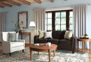 Online design Transitional Living Room by João A. thumbnail