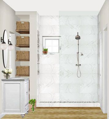 Online design Traditional Bathroom by Marisa G. thumbnail