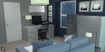 Online design Modern Home/Small Office by Amber K. thumbnail