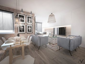 Online design Country/Cottage Dining Room by Dominika Z. thumbnail