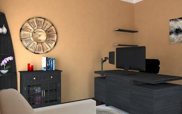 Online design Transitional Home/Small Office by Gargi K. thumbnail