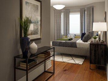 Online design Modern Bedroom by Rachel H. thumbnail