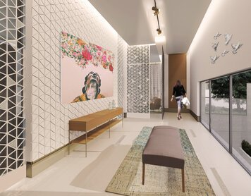 Online design Transitional Hallway/Entry by Rawan A. thumbnail