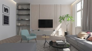 Online design Contemporary Living Room by Janja R. thumbnail