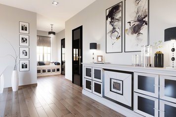 Online design Modern Hallway/Entry by Anahit M. thumbnail