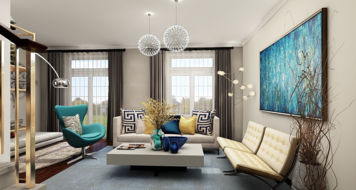 Online design Contemporary Living Room by Mary B.  thumbnail
