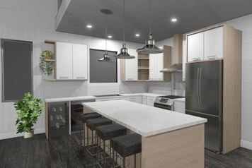 Online design Contemporary Kitchen by Natalie S. thumbnail