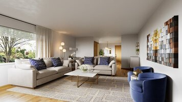 Online design Country/Cottage Living Room by Farzaneh K. thumbnail