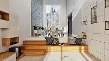 Online design Modern Dining Room by Pratiksha K. thumbnail